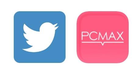 Twitterと出会い系アプリのアイコン